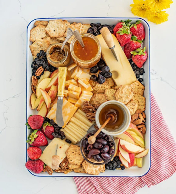 Everyday Cheese Board